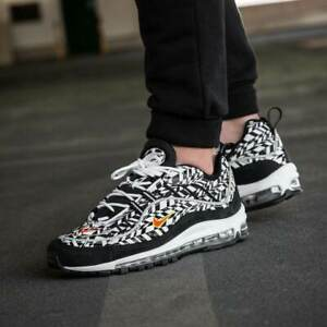 new products 741a4 e5498 Nike Air Max 98 AOP All Over Print Men's (Size 8) White ...