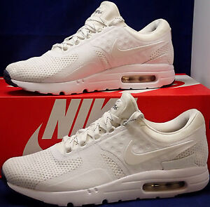 Details about Nike Air Max Zero iD White Blue running shoes SZ 9 ( 853860 901 )