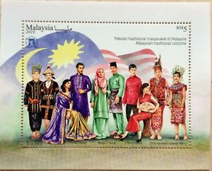 Malaysia-Miniature-Sheet-08-08-2019-National-Costume