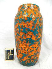 """70´s design Scheurich Keramik """" Lava """"  vase in a rare glaze variation 242 22 cm"""