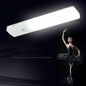 Wireless-Rechargeable-USB-LED-Cabinet-Lamp-Stick-on-Motion-Sensor-Light-Closet