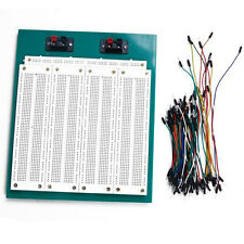 2860 Points Solderless Bread Board Circuit Board With 65PCS Connecting Line New