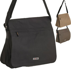 Image is loading Mens-Womens-Lightweight-Canvas-Messenger-Laptop-Work-Cross- e4281a3162440