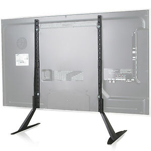 Image Is Loading WALI Universal LCD Flat Screen TV Table Top