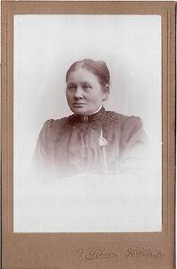 CAB-Foto-Feine-Dame-Stenlille-1900er