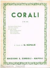 Corali A Tre Voci / Palestrina, Victoria, Lasso, Ferrario (Ràpalo) - Simeoli