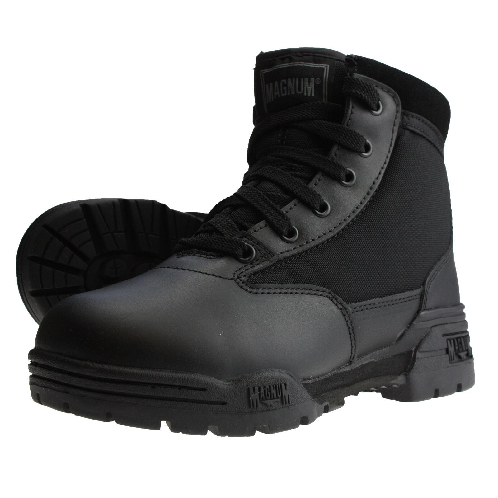 Magnum HiTec Classic MID Boots - schwarzer Stiefel für Security,Einsatz,Uniform