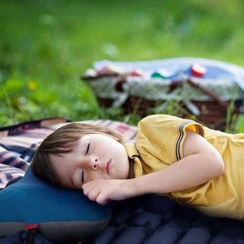 déductibles Taie d/'oreiller ergonomisc Hikenture Gonflable Camping//Voyage Coussin