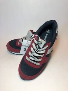 c1a9ca86e1003 Details about Boys Nolan Jogger Sneakers Tennis Shoes Low Tops Cat & Jack  Rusted Red Size 2