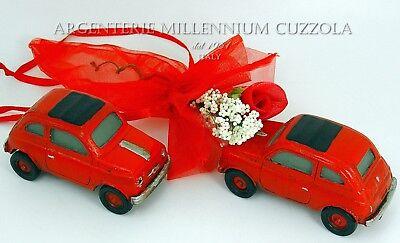 Bomboniere Matrimonio Fiat 500.Auto Epoca Fiat 500 Bomboniere Laurea Matrimonio Cresima Comunione