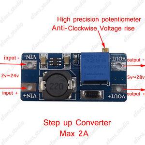 2A-DC-DC-Boost-Step-up-Adjustable-Volt-Converter-3V-24V-to-5v-28v-6v-9v-12v-24v