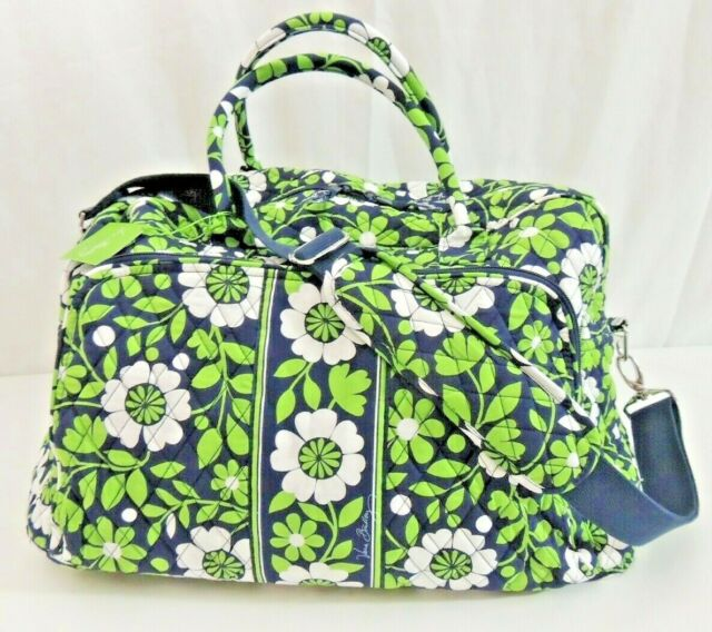 Vera Bradley Weekender Very 100 Cotton Washable Lucky You