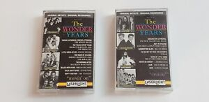 Music-from-the-Wonder-Years-Cassette-Tapes-Movin-039-on-amp-Cruisin-PRE-OWN-amp-TESTED
