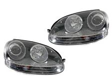 RHD UK Australia GTI LOOK PROJECTOR ECode Headlight 05-09 VW Jetta V Golf 5 DEPO