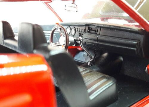 LGB 1:24 Maßstab Rot Dodge Coronet  1969 Motormax Druckguss Modell Auto 73315 Autos