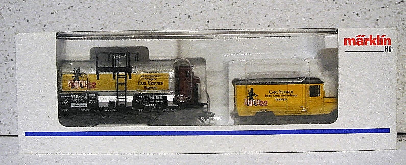 Con precio barato para obtener la mejor marca. Marklin HO 1995 conjunto de de de Museo Cochel Gentner nigril 22 Nuevo En Caja  Compra calidad 100% autentica