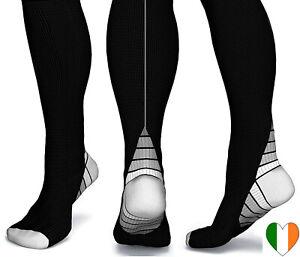 Compression-Socks-Knee-High-Anti-Fatigue-Flight-Running-Varicose-For-Men-Ladies
