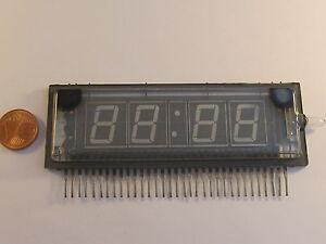 NEC LD8195 Vacuum Flourescent Display 4 Digit , für Uhren Clock Display Green