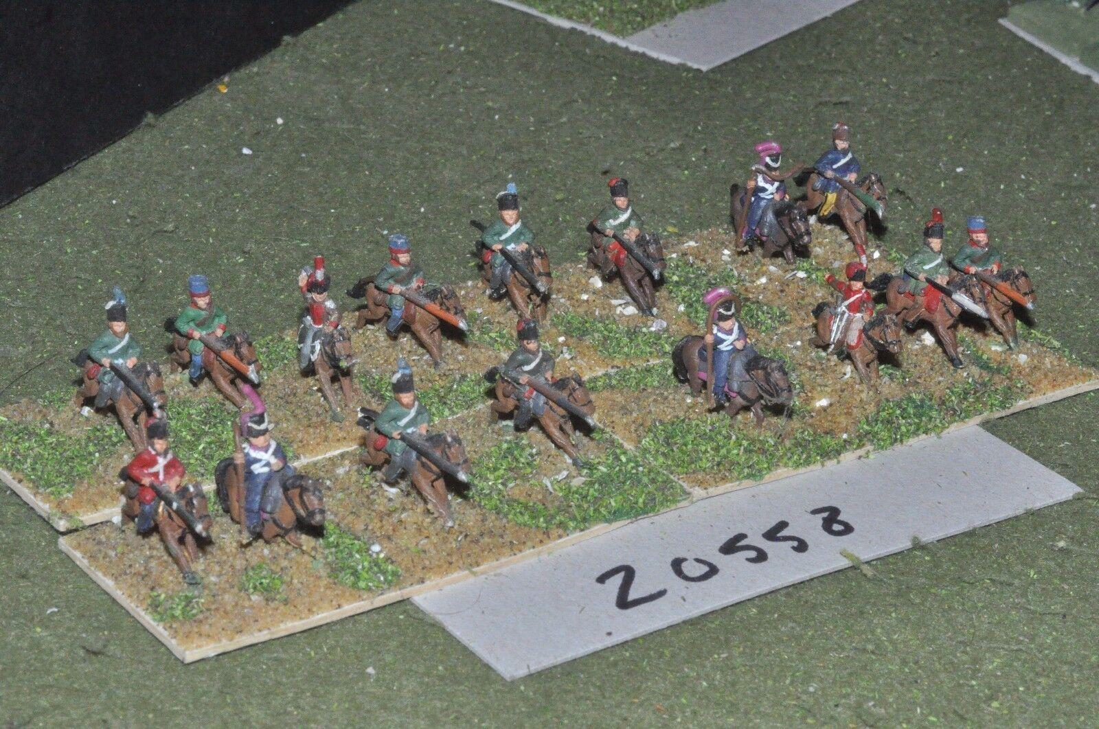 15mm napoleonic   russian - cavalry 16 cavalry - cav (20558)