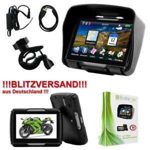 8GB-Bluetooth-GPS-Motorrad-Navigationsgeraet-Auto-Navigation-Wasserdicht