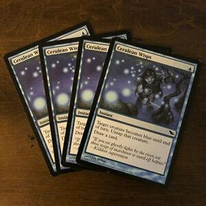 4 Cerulean Wisps ~ Blue Shadowmoor Mtg Magic Common 4x x4