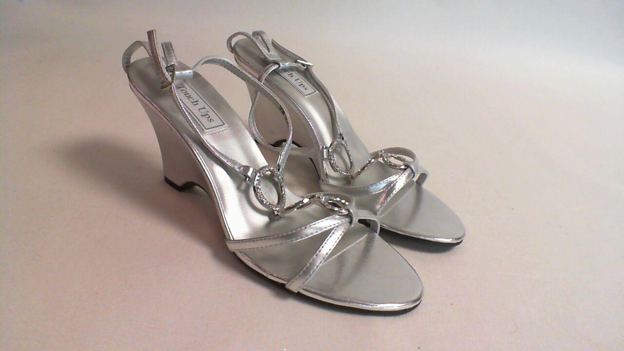Touch Ups Wedding/Evening Shoes - Arlene - Silver - US 5M - UK 3 #22E313