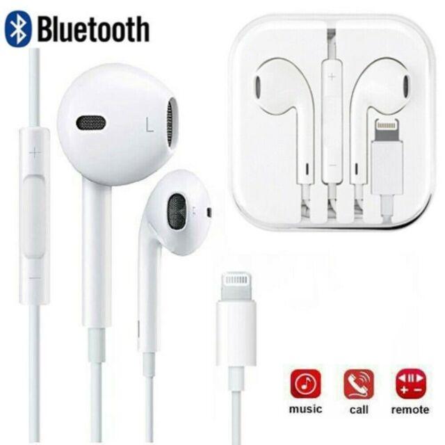 Lightning Bluetooth Headphones Handsfree For Apple Iphone 7 8 X Xs Xr Xs Max For Sale Online Ebay