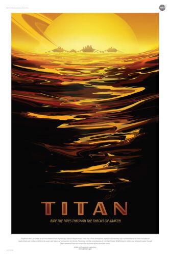 Titan Multi Size NASA Exoplanet Travel Bureau