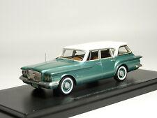 Neo 47115 143 1960 Plymouth Valiant Station Wagon Resin Model Car