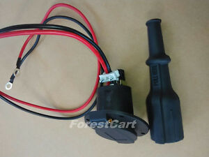 Image Is Loading Golf Cart Dc Receptacle Plug 36v 48v Charger