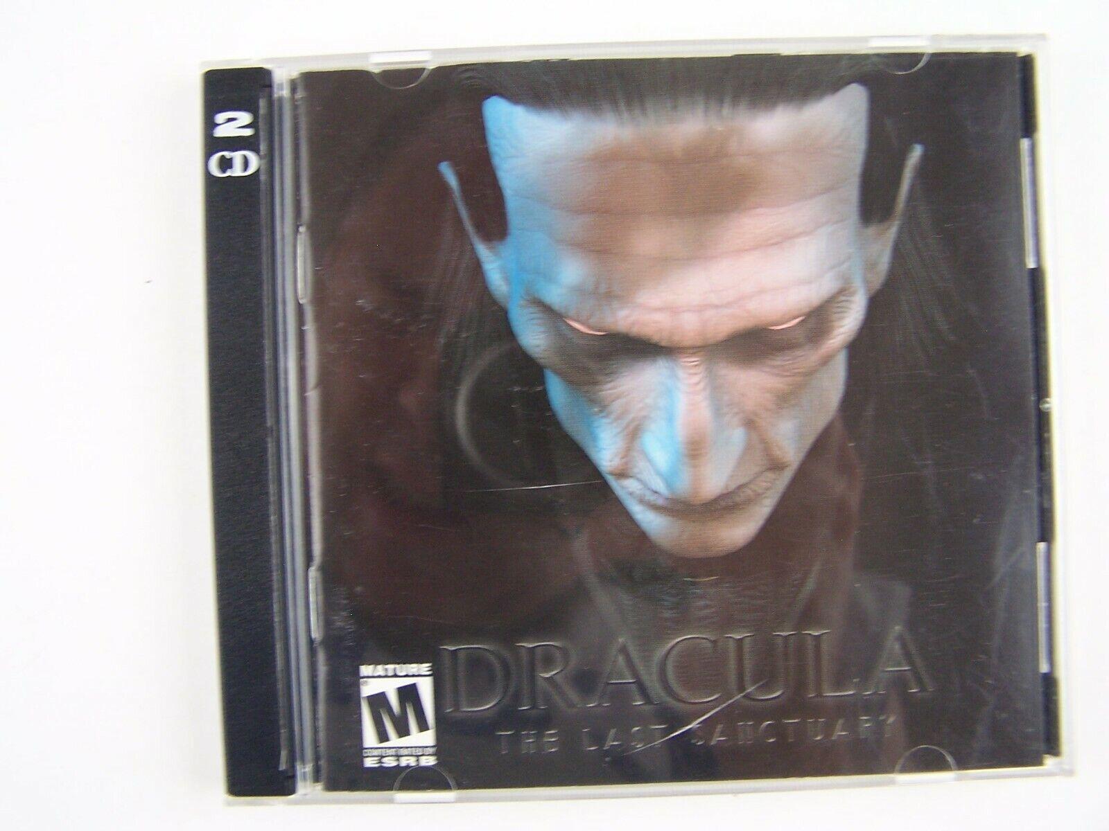 Dracula: The Last Sanctuary PC CD Software 625904302106