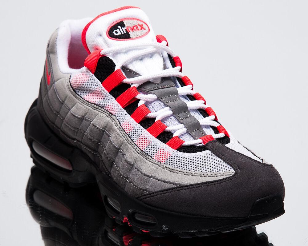 Nike Air Max 95 OG Solar rouge Men New blanc Granite Lifestyle Sneakers AT2865-100 Chaussures de sport pour hommes et femmes
