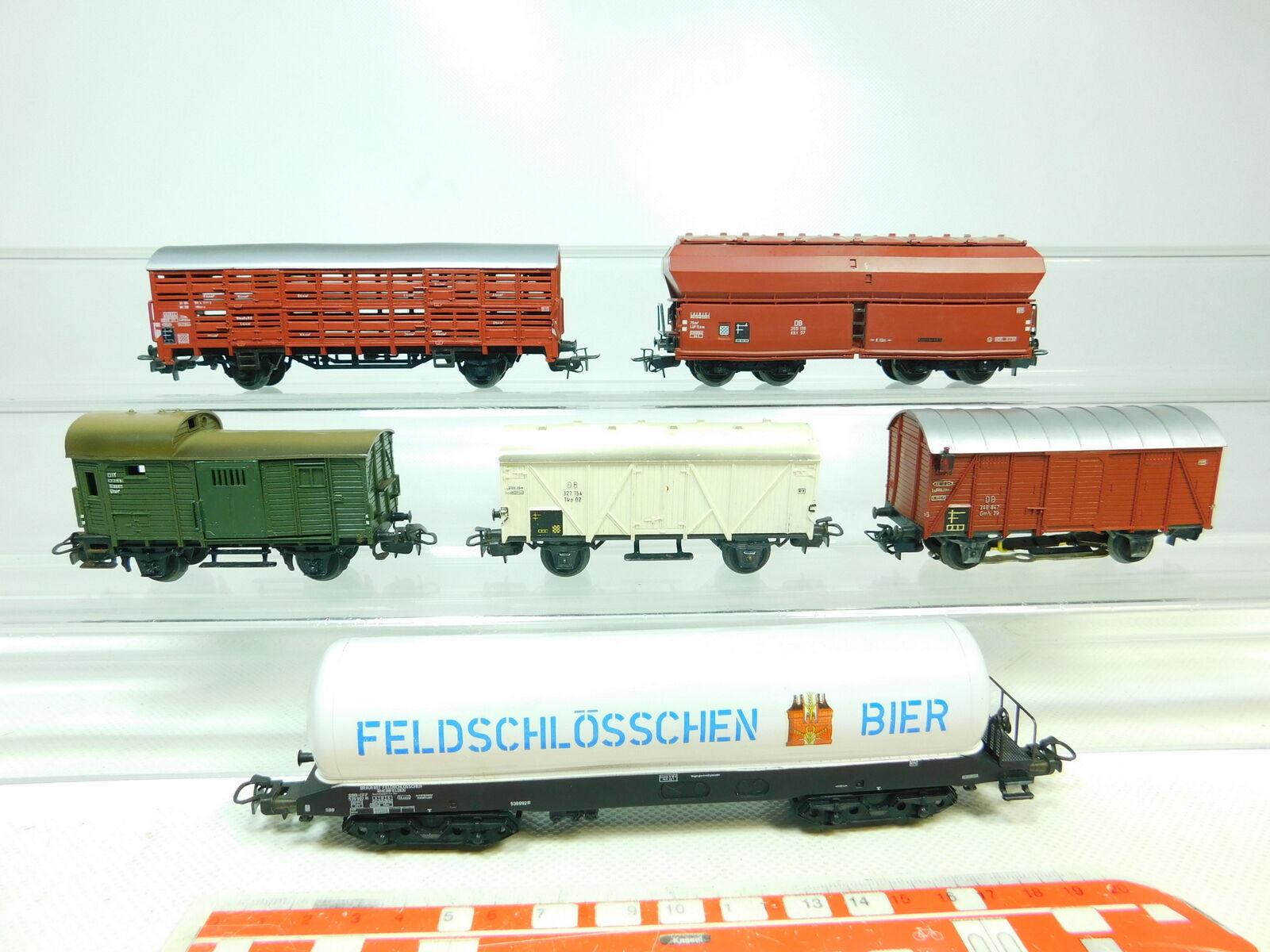 Bu551-1x Märklin h0 ac freight wagons DB SBB  4626 + 4632 + 310 1 etc, 2. Choice
