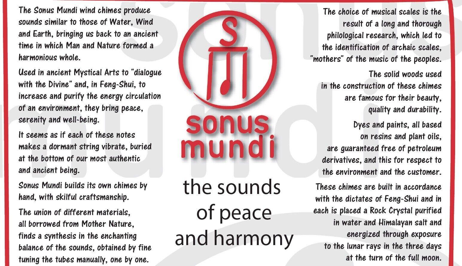 Sonus Mundi Meditation Purifying Relax Wind Chime Maqam Peaceful Melody Chime