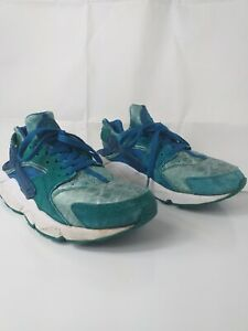 Details about Nike Air Huarache Green Abyss /Turbo Green Uk Size 7 Used and Great Condition