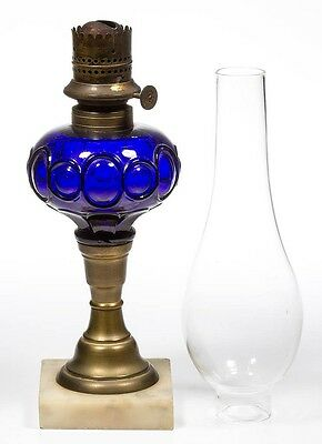 BULLSEYE BAND AND LOOP TYPE KEROSENE FINGER LAMP Lot 473