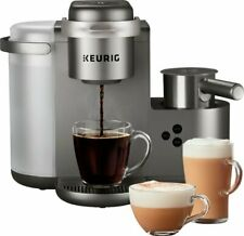 Keurig K-Café Special Edition Single Serve Coffee, Latte & Cappuccino Maker - Nickel
