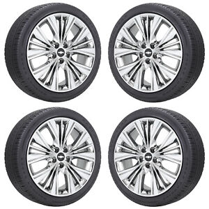 Image Is Loading 20 034 Chevrolet Impala Pvd Chrome Wheels Rims