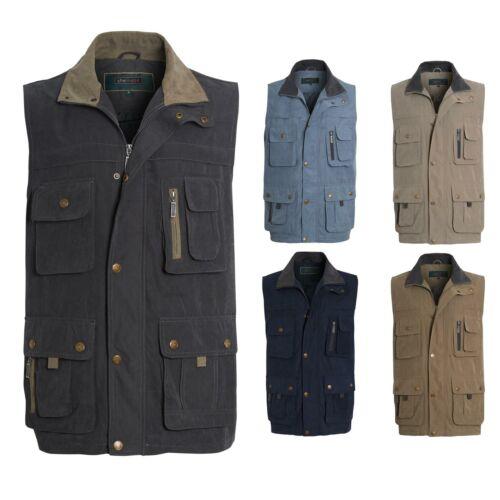 Mens Safari Hiking Outdoor Fishing Walk Waistcoat Jacket Gilet Sleeveless M-3XL