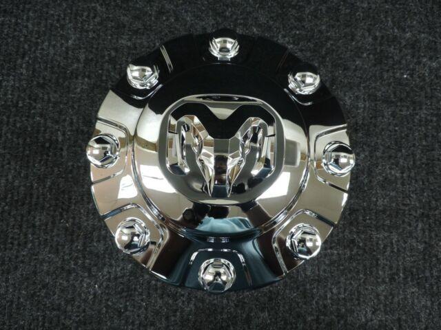 Dodge Center Caps Hubcaps Ram 3500 Truck wheel Dually DRW front chrome SET OF 2