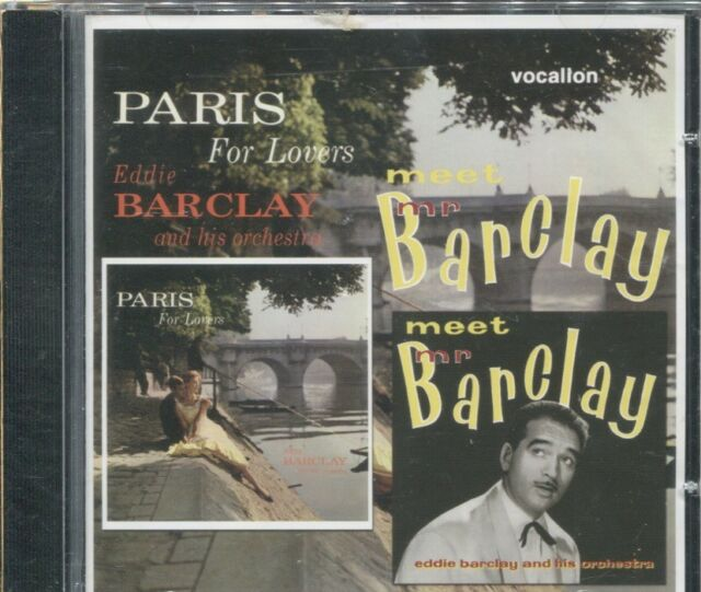 Meet Mr. Barclay/Paris for Lovers by Eddie Barclay Et Son Orchestre (CD,