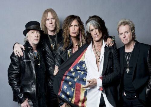 12 Aerosmith Photo Rock Band Metal Legends Picture Vintage Print Music Poster