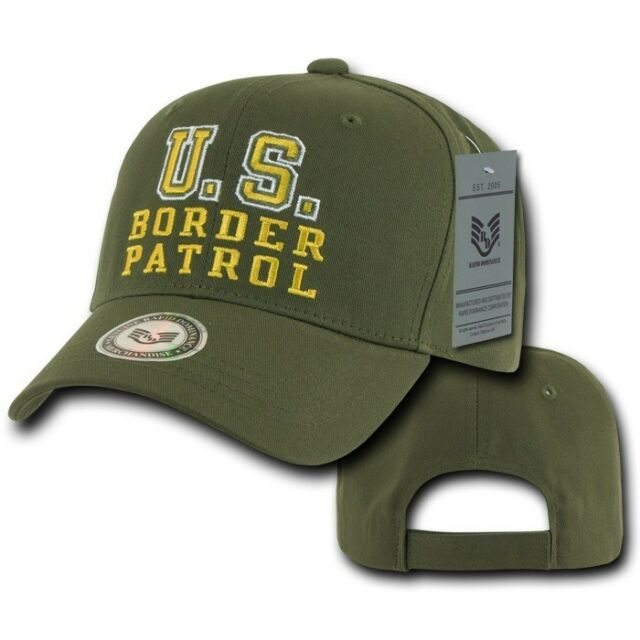 31861801295 Frequently bought together. Olive Green Border Patrol Police Cop Sheriff  Cotton Baseball Cap Hat Caps Hats