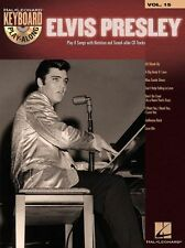 Keyboard Play-Along Elvis Presley Play BLUE SUEDE SHOES Piano Music Book & CD