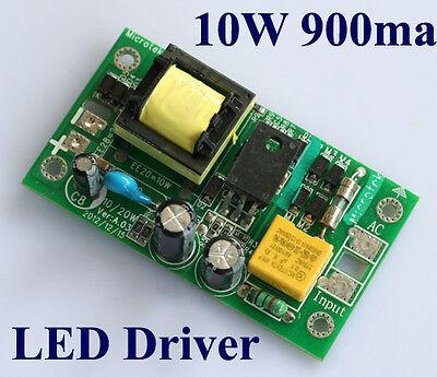 New High Power 10W LED Driver Model AC 85-265V to DC 9-12V 900mA