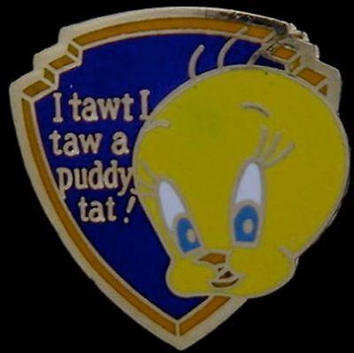 WB Looney Tunes Pin~Tweety Bird~by Pinnacle Designs~older 80/'s vintage