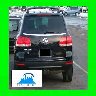 VOLKSWAGEN CHROME TRUNK//TAILGATE TRIM MOLDING W//5YR WRNTY+FREE INTERIOR PC 2