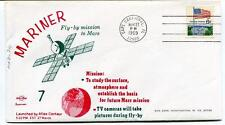 1969 Mariner 7 Mission Mars Cape Canaveral Atlas Centaur USA SAT