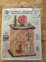 Southwest Decorative Container Counted Cross Stitch Kit