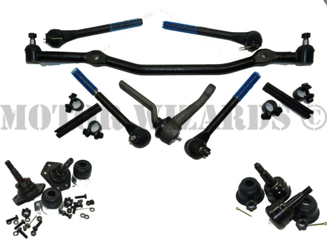 Front End Steering Rebuild Kit+BALL JOINTS w/Tie Rod Ends for GM A-Body 68-70